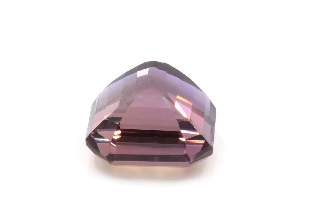 natural ametrine gemstone/ faceted ametrine loose stone/genuine ametrine for jewelry/ametrine gem stone ametrine loose 17mm 26ct-Planet Gemstones