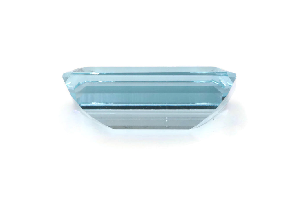 Aquamarine Natural Aquamarine 16x9mm 6.32ct March Birthstone DIY Jewelry Supplies Aquamarine Gemstone Blue Aquamarine Genuine Aquamarine-Aquamarine-Planet Gemstones