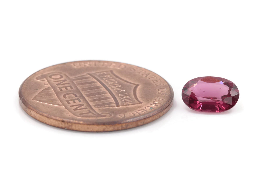 Natural Red Spinel Spinel Gemstone Genuine Spinel August birthstone Red SPINEL Pink spinel OV 7x5mm 0.763 ct Spinel Loose stone-Planet Gemstones