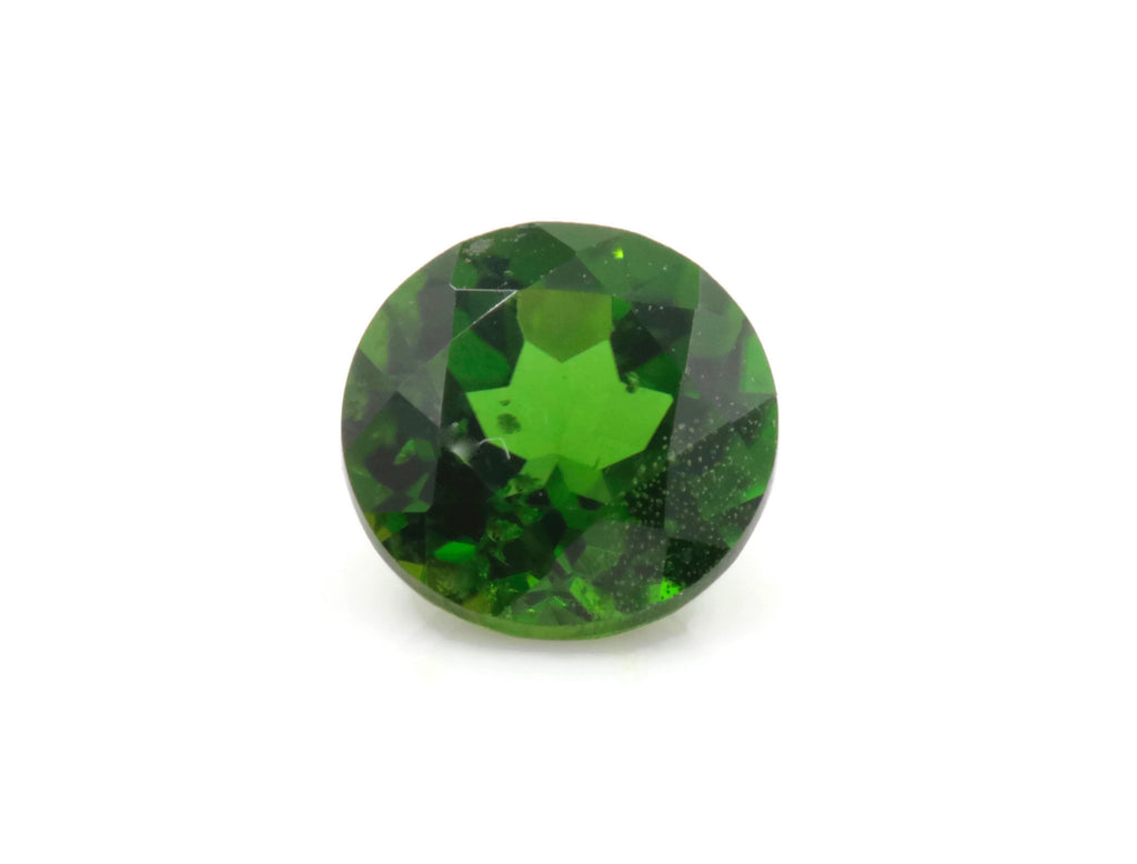 Natural Chrome diopside Chrome Diopside Green Gemstone Russian diopside Green Diopside DIY jewelry supplies Faceted Chrome diopside 5mm RD-Planet Gemstones