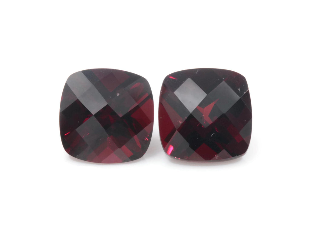 Natural Red Garnet | January Birthstone | Faceted Red Garnet loose gemstone | Mozambique Garnet 9mm 8.08ct-Planet Gemstones