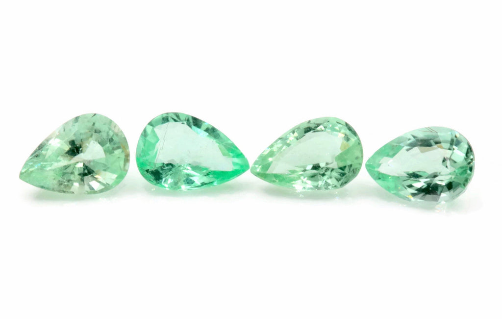 Natural Paraiba Tourmaline Green Tourmaline DIY Jewelry Supply Tourmaline October birthstone Paraiba Tourmaline PE 7X5mm-Tourmaline-Planet Gemstones
