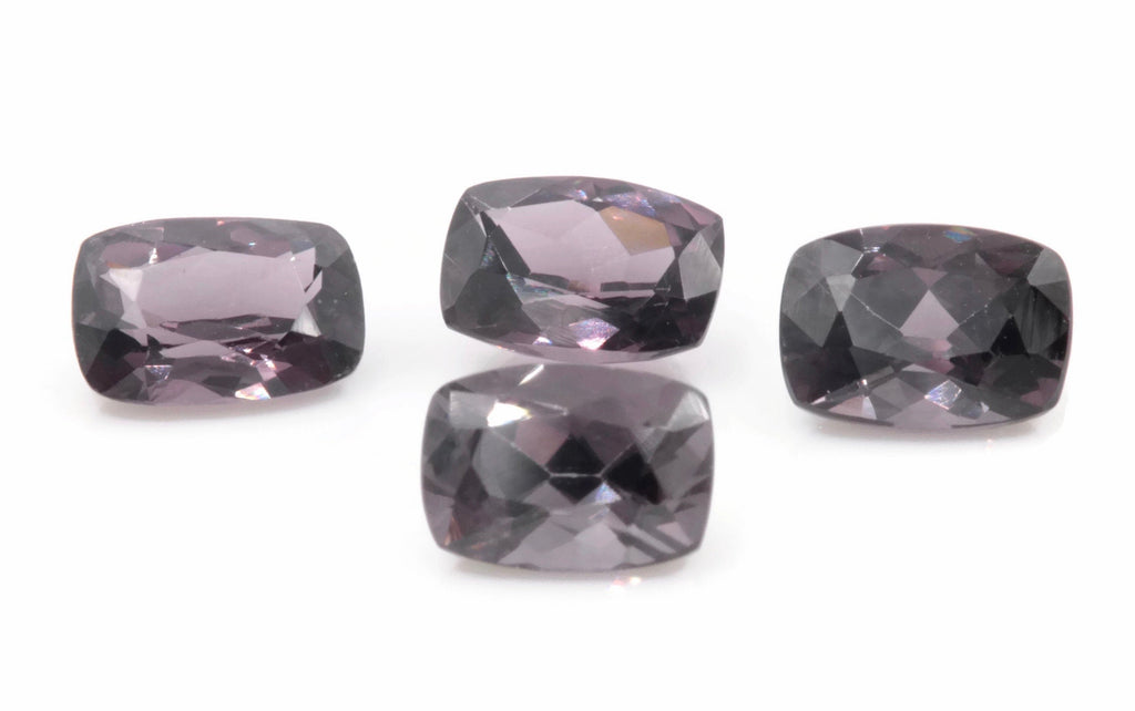 Natural Spinel Spinel Gemstone Genuine Spinel August birthstone Natural Lavender SPINEL 7x5mm Spinel Cushion 1.13ct Spinel Loose stone-Planet Gemstones