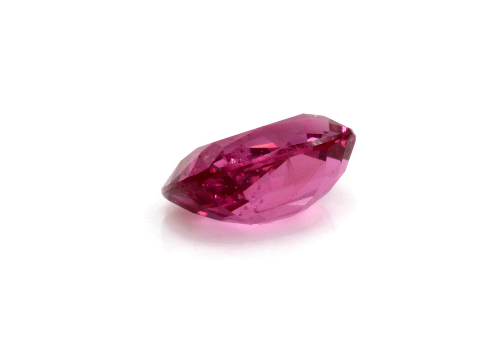 Natural Red Spinel Gemstone Genuine Spinel August birthstone Pink SPINEL faceted Pink Spinel CUShion 7x5mm 1.082ct Loose Stone-Planet Gemstones