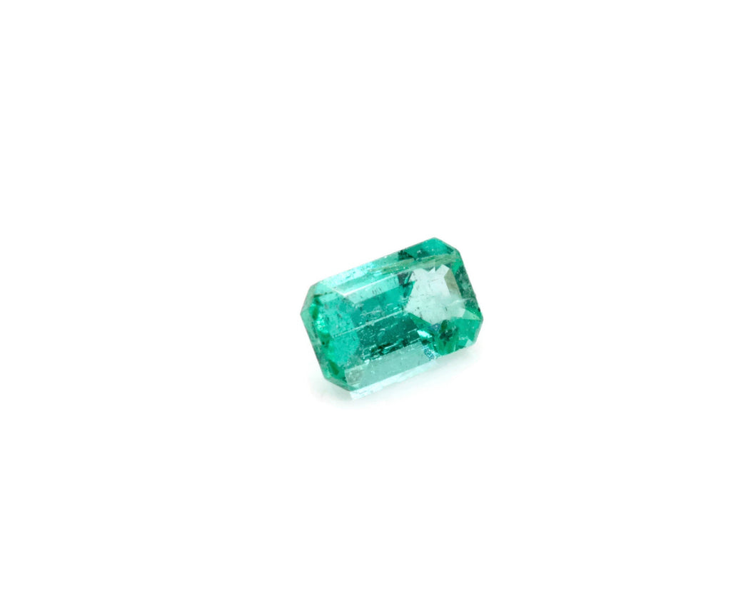 Emerald Natural Emerald May Birthstone Zambian Emerald step cut Emerald Diy Jewelry Supplies Emerald Gemstone 0.25ct 5x3mm Emerald green-Emerald-Planet Gemstones