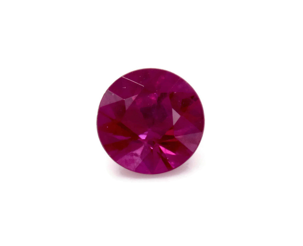 Natural Ruby Gemstone 3.5mm 0.12ct Round DIY Jewelry Ruby Loose Stone July Birthstone Genuine Ruby-Ruby-Planet Gemstones