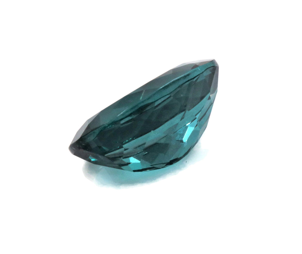 Natural Flourite Flourite Crystal Flourite Flourite Stone Teal Blue Flourite Loose Stone Jewelry Supplies DIY Jewelry 16x12 Oval Cut 10.6ct-Planet Gemstones