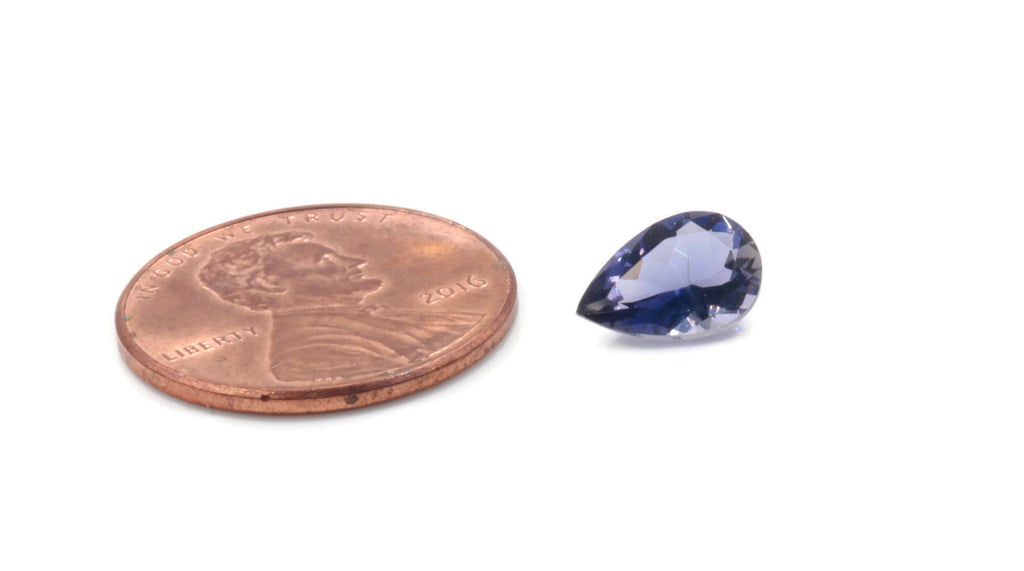 Natural Iolite Gemstone Faceted Iolite Stone Iolite Faceted Loose Iolite Vettrigemsusa 6x9mm Iolite Loose Stone DIY Jewelry Supplies 0.96ct-Planet Gemstones