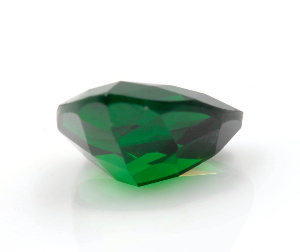 Tsavorite Natural Tsavorite Garnet January Gemstone Green Garnet Tsavorite 9mm Trillion Tsavorite Garnet Loose Stone 3.12ct SKU:113138-Planet Gemstones