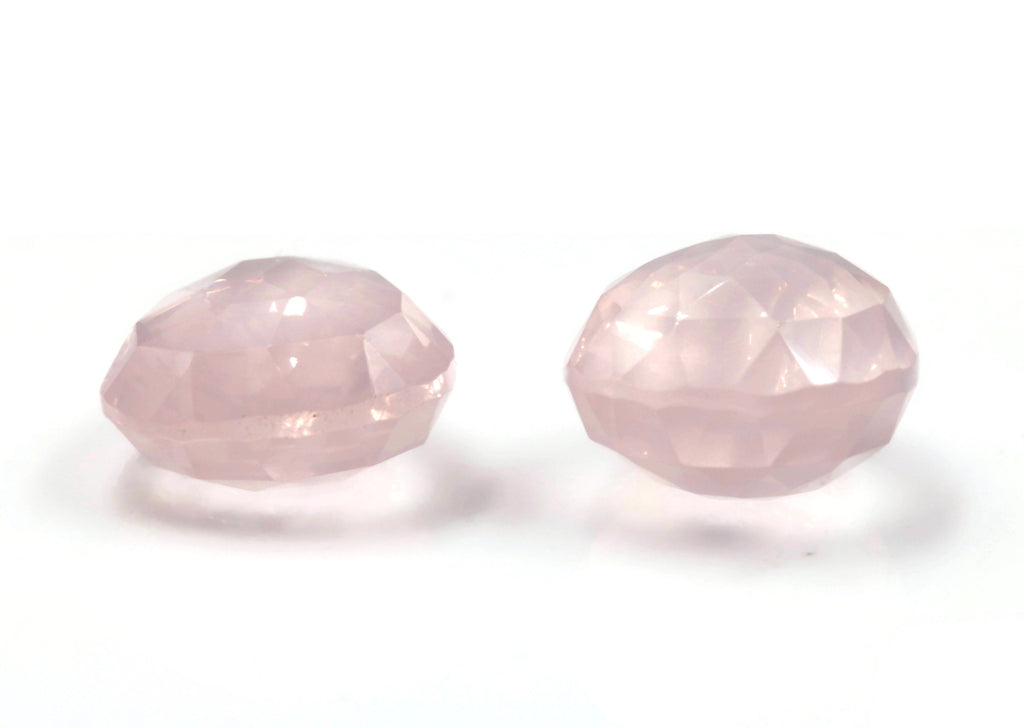 Natural Rose Quartz Gemstone Stones Pink Quartz Stone Rose Quartz Drops DIY Jewelry Supplies DIY Jewelry Supplies 20x15mm 25ct SKU:113031-Planet Gemstones