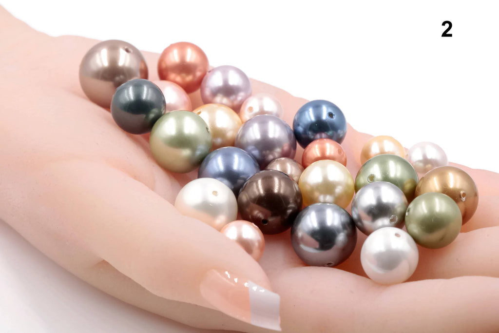 Mixed Beads Gemstone Beads and Pearls DIY Jewelry Supplies Loose Beads DIY Jewelry Supplies 200ct SKU: 113142,113143-Planet Gemstones