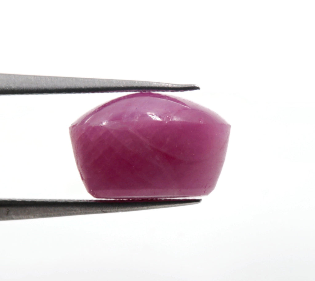 Natural Ruby Gemstone DIY Jewelry Ruby Loose Stone July Birthstone Ruby Natural Gemstone Faceted Genuine Ruby OV 6.06ct 9x8mm SKU:113110-Ruby-Planet Gemstones
