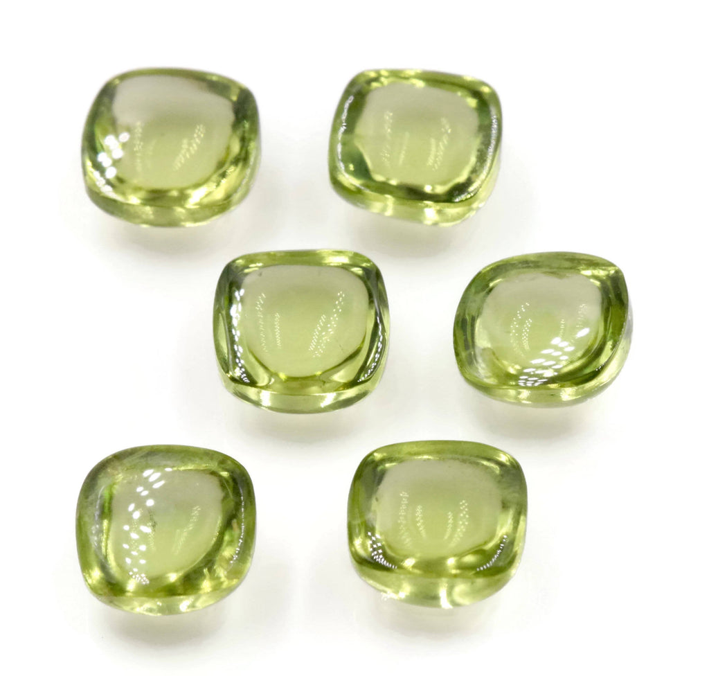 Peridot Natural Peridot Green Peridot Gemstone August Birthstone DIY Jewelry Supplies Peridot CUS 7mm Approx 7ct Gift for Her SKU:113200-Planet Gemstones
