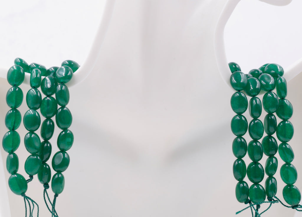 Genuine Emerald Beads Emerald Necklace Green gemstone Beads Emerald Gemstone Beads Green Jade Necklace Jade Bead Necklace SKU:113273,113274-Emerald-Planet Gemstones