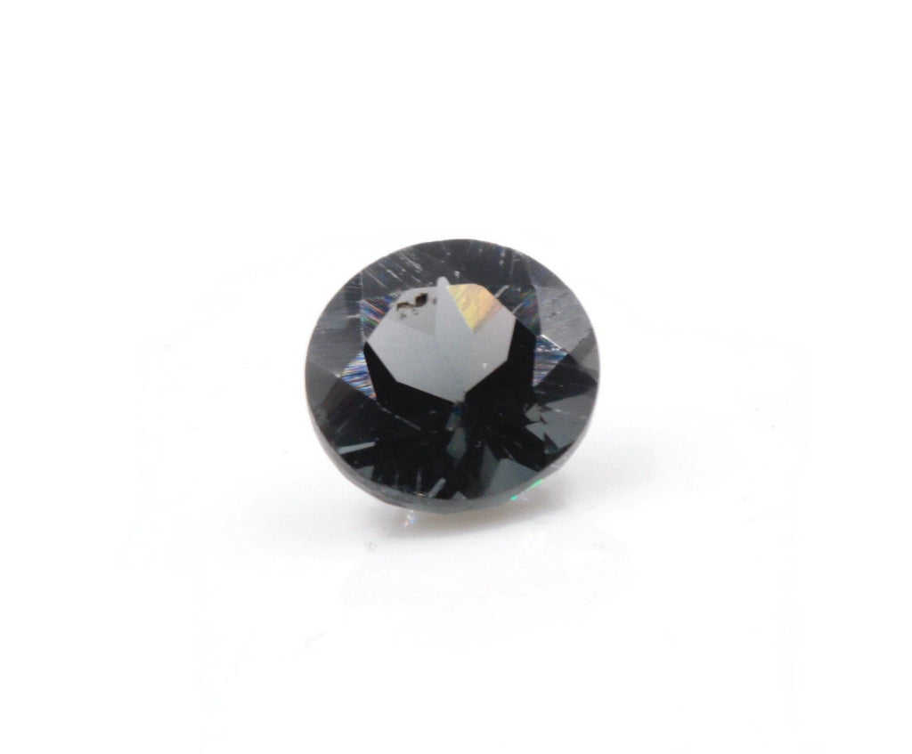 Natural Spinel Spinel Gemstone Genuine Spinel August birthstone Gray SPINEL Gray Spinel 6mm Round DIY Jewelry Supplies SKU:114189-Planet Gemstones