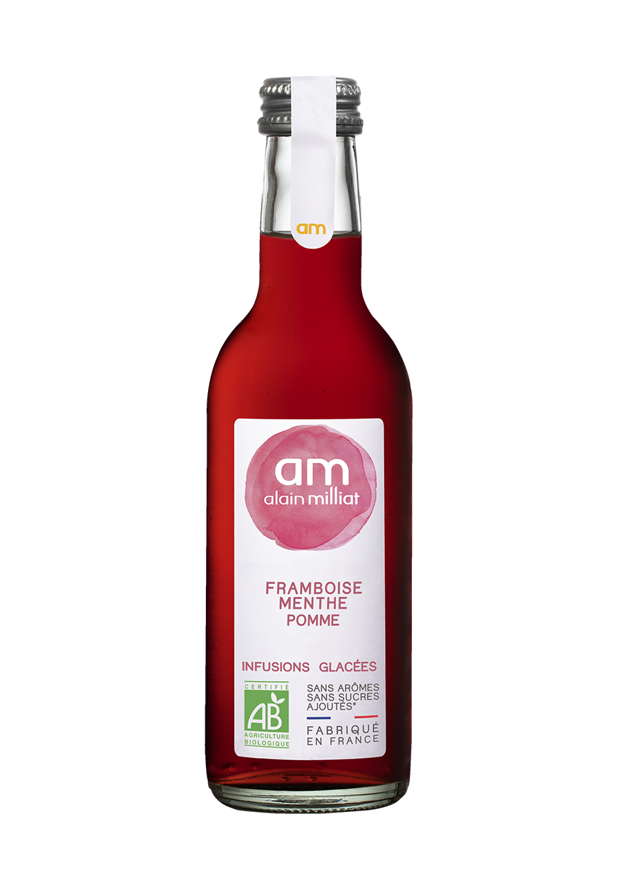 AM - Infusion Glacée Framboise / Menthe