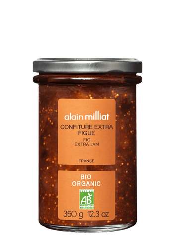 Confiture Extra Figue Bio 350g Alain Milliat
