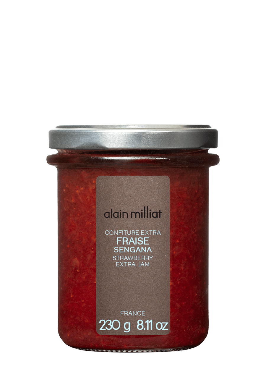 Confiture Extra Fraise 230g Alain Milliat