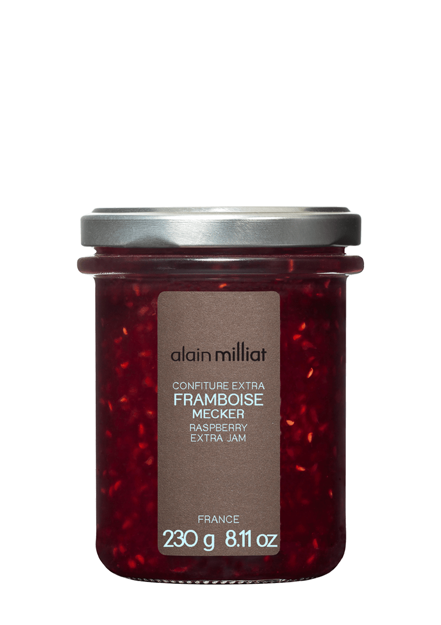 Confiture Extra Framboise Mecker 230g Alain Milliat