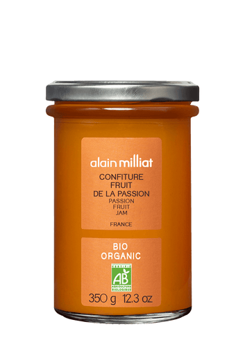 Confiture Extra Fruit de la Passion Bio 350g Alain Milliat