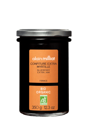 Confiture Extra Myrtille Bio 350g Alain Milliat