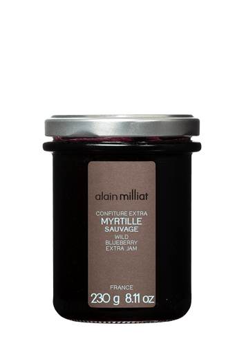 Confiture Extra Myrtille Sauvage 230g Alain Milliat