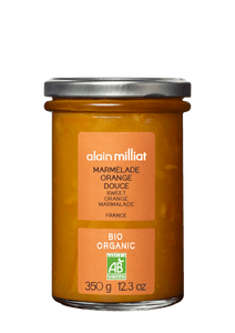 Marmelade Orange Douce Bio 350g Alain Milliat