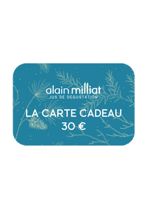 Carte Cadeau Alain Milliat