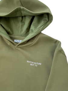 OVERSIZED HOODIE | WATCH NATURE, NOT TV (only preorder available)