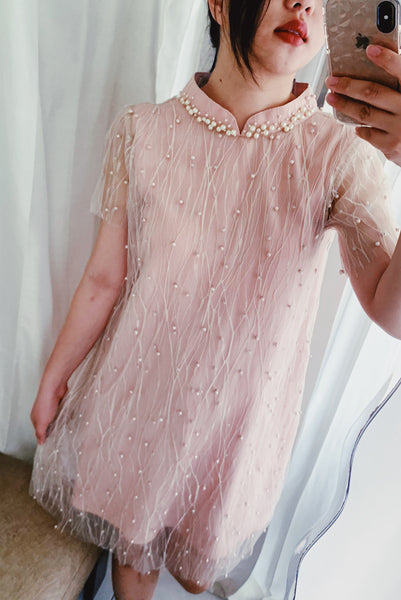 Leia dress in pink