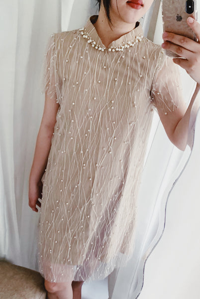 Leia dress in creme
