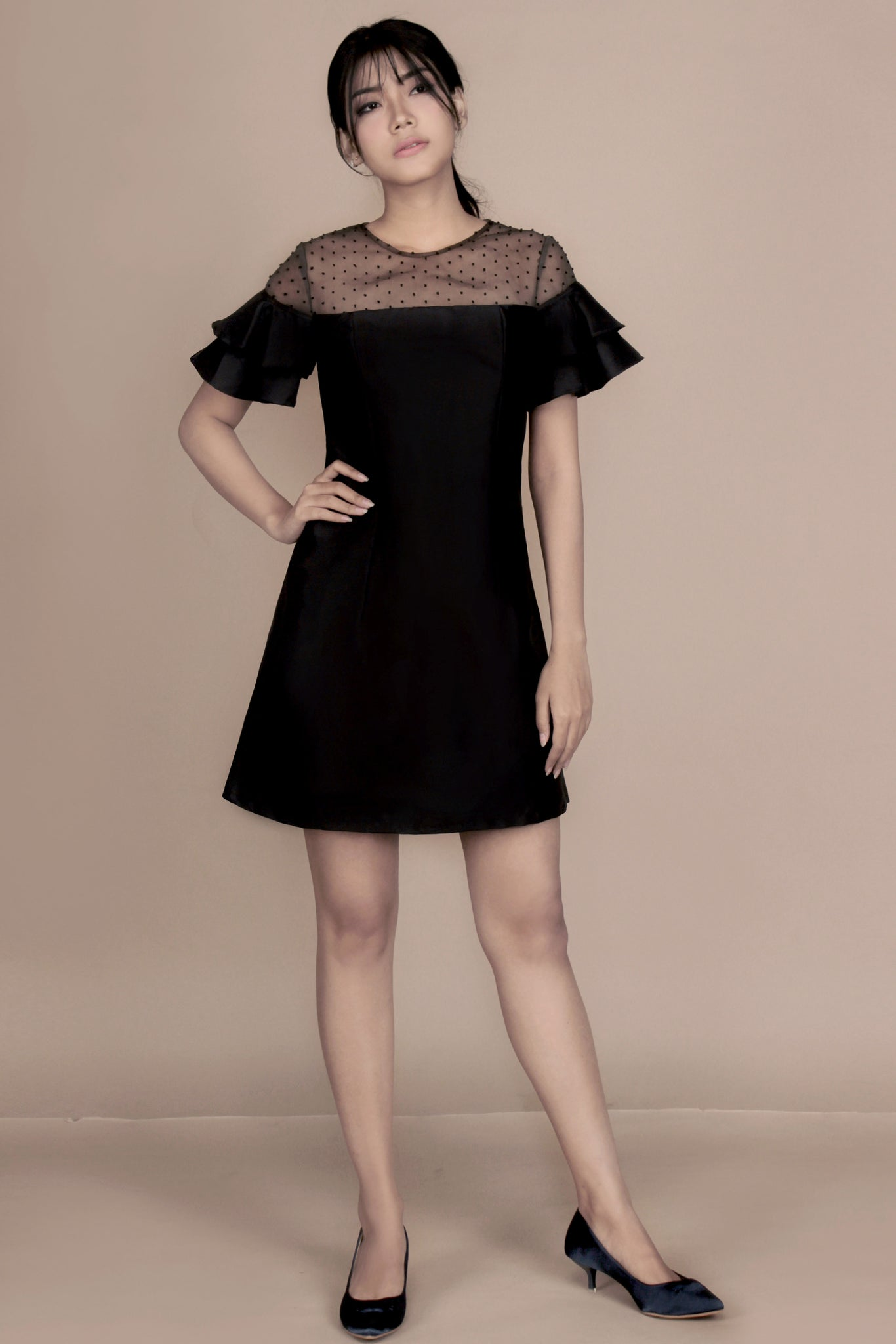 Judith Dress black