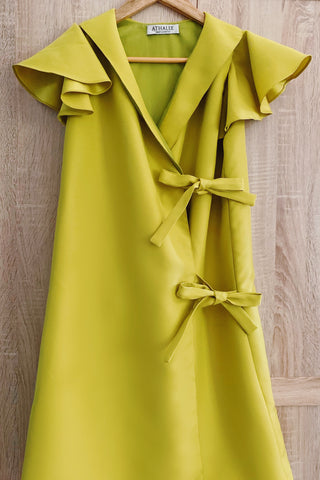 Selah dress in lime