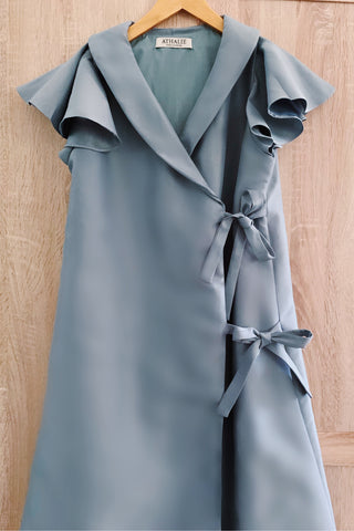 Selah dress in sage