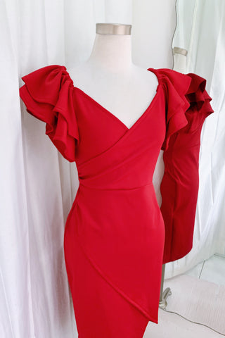 Heart dress red