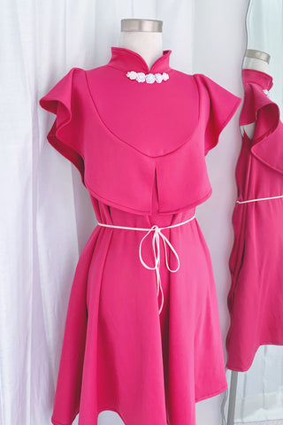Dallia dress pink