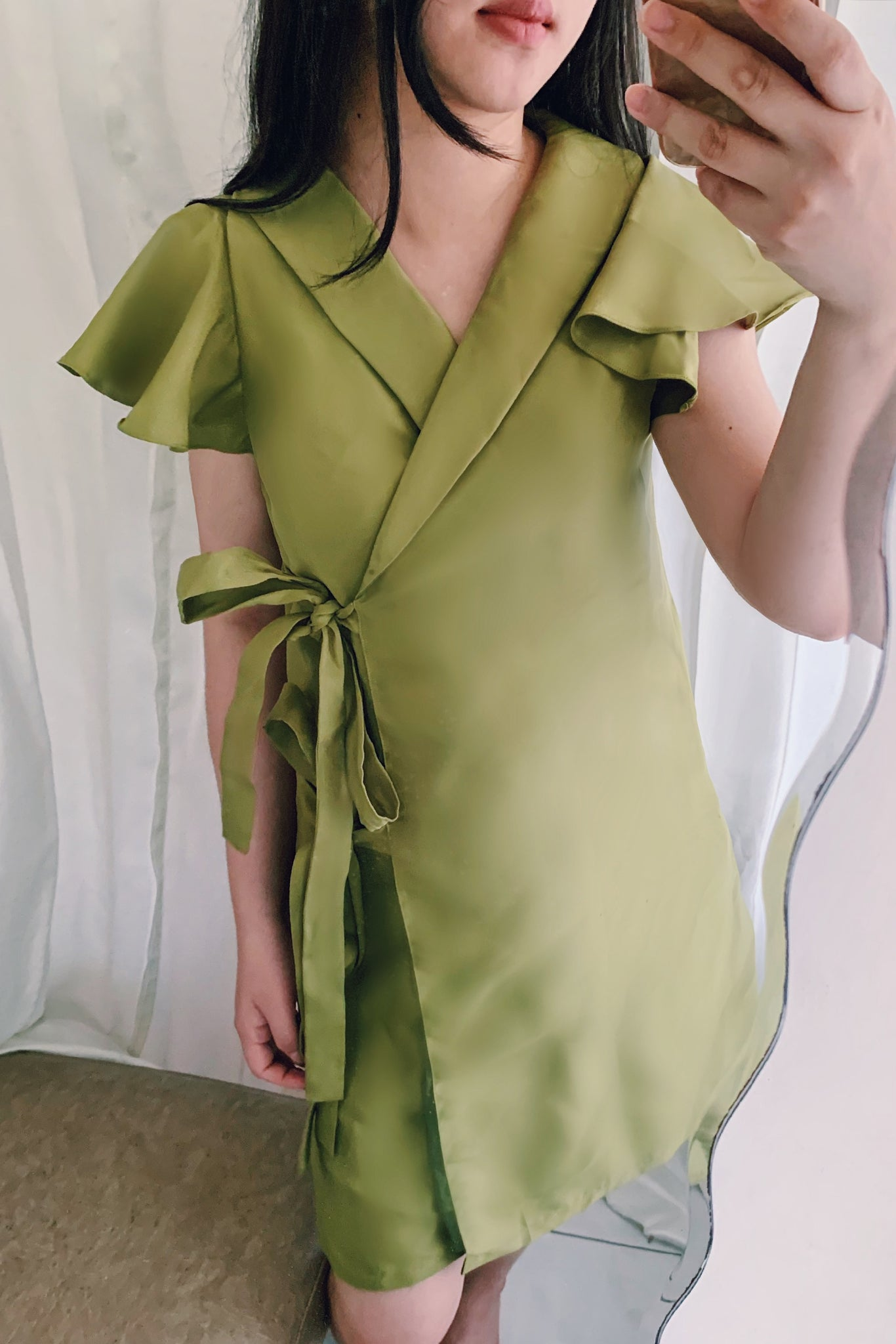 Selah dress in olive