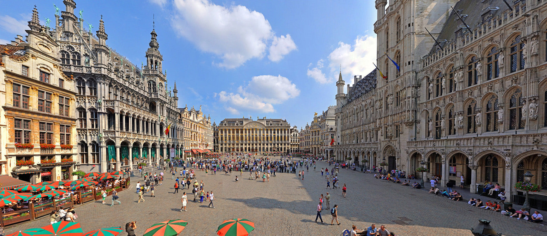 Brussels Grand Place - Open Edition up to 100 cm x 230 cm