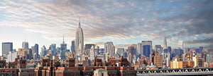 Skyline of New York from Brooklyn - Open Edition up to 60 cm x 165 cm