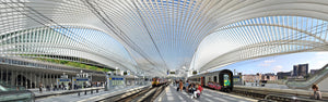 Guillemins Railway Station of Liege - Limited Edition up to 110 cm x 350 cm