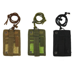 Tactical badges tag lanyard