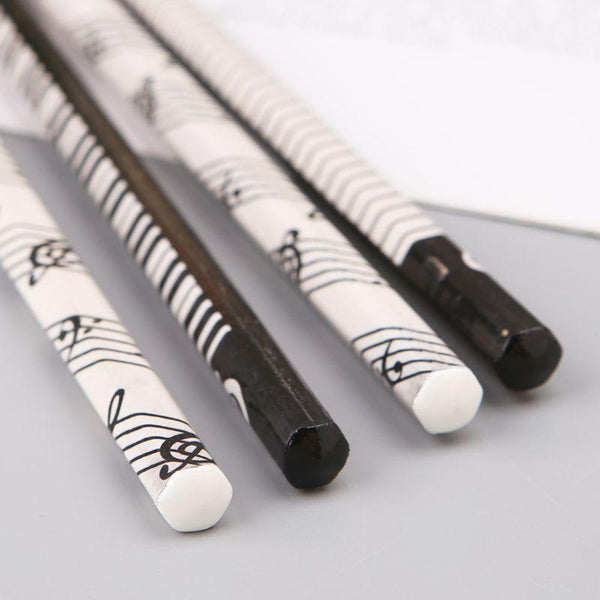 Musical Note HB Standard Wooden pencil