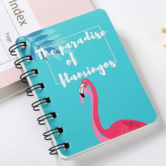 Hard Cover Cute  Mini Cartoon Notebook
