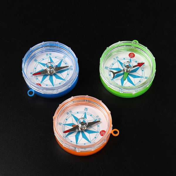 Mini Transparent Compass Teaching equipment