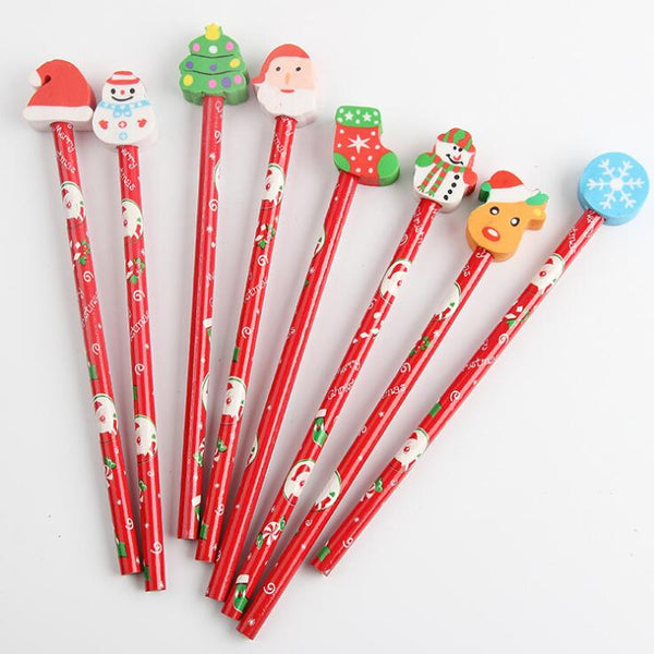 Kawaii Christmas HB Wooden pencil