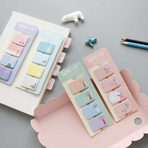 Cherry Sticky Notes Animals Post