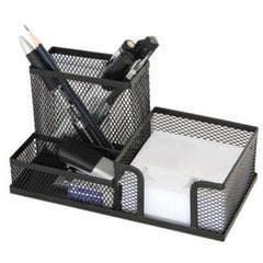 Metal Mesh Desktop Pen Holder