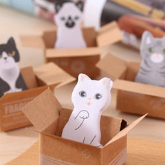 FangNymph Cute Cat Dog Box Stickers