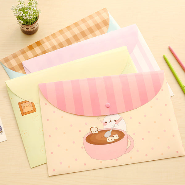A4 cute cartoon animal file holder