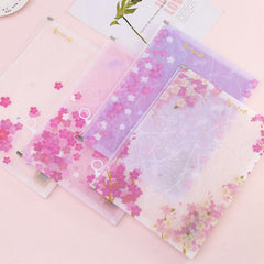 Cherry Blossoms Kawaii A4 File Folder